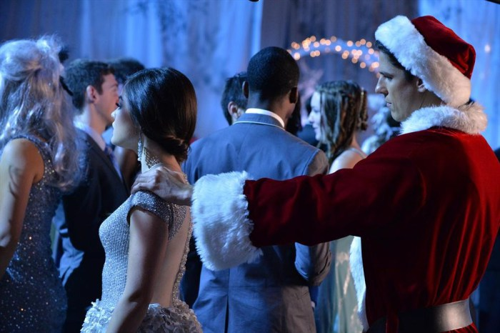 This is the year Aria will finally find out that Santa is an evil twenty-something guy and not, in fact, real