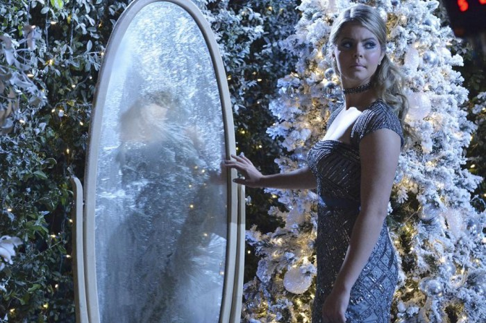 Ali will finally go free the girl who was trapped in the mirror by the Watcher in the Woods